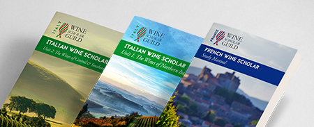 all 3 manuals Wine Scholar Guild Update