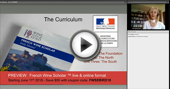 fws preview play Wine Scholar Guild Update