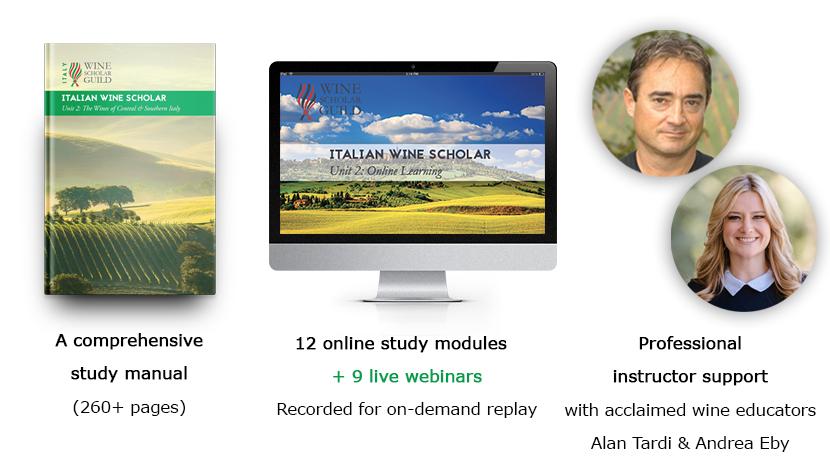 Italian Wine Scholar live online format