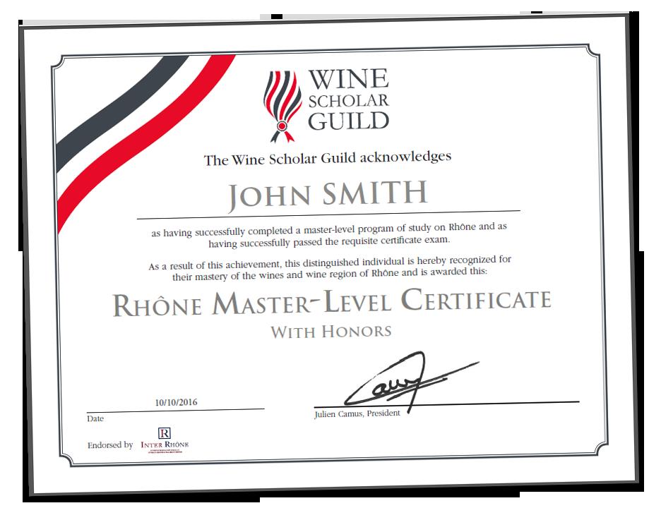 Rhône Master-Level Program