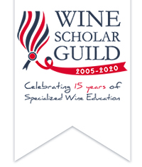 Wine Scholar Guild 2020 ribbon