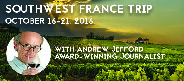 SOUTHWEST FRANCE with Andrew Jefford, award-winning journalist