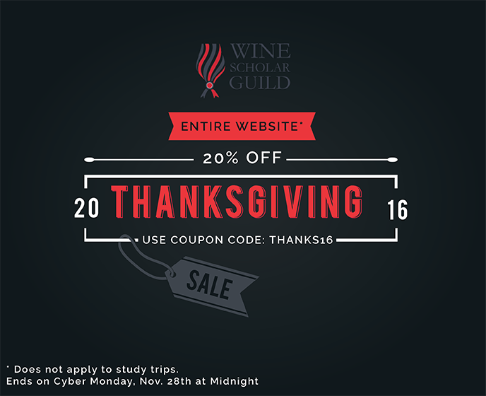 Celebrate Thanksgiving and take 20%