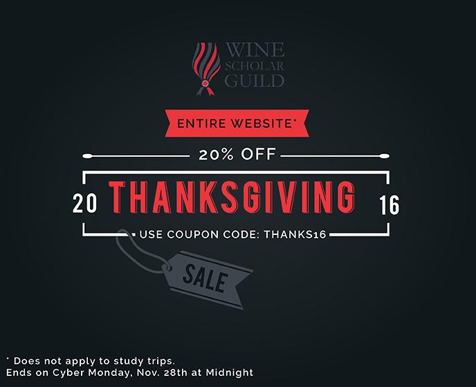 Celebrate Thanksgiving and take 20%