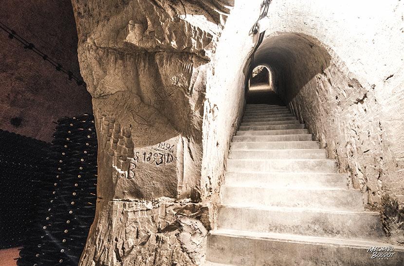 Cellar at Champagne Pierre Paillard