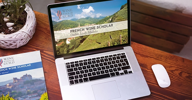French Wine Scholar study manual and online study module