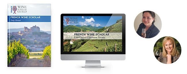 French Wine Scholar study manual, online format, and instructor