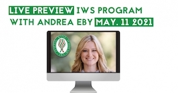 Andrea Eby with the IWS Live Preview