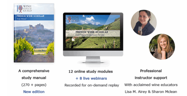French Wine Scholar study package