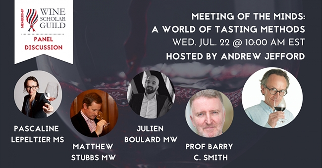 Meeting of the Minds - A World of Tasting Methods (Panel Discussion)