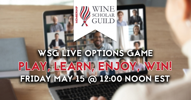 Live Options Game for WSG Members promotion