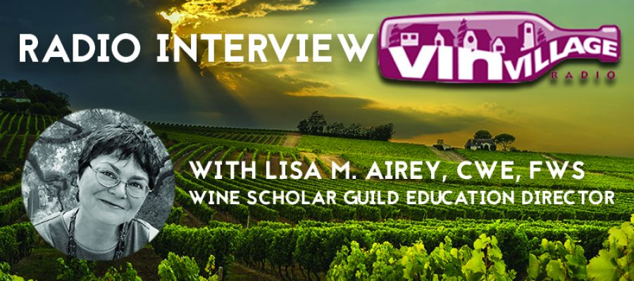 Lisa Airey radio interview on Champagne programs and trip