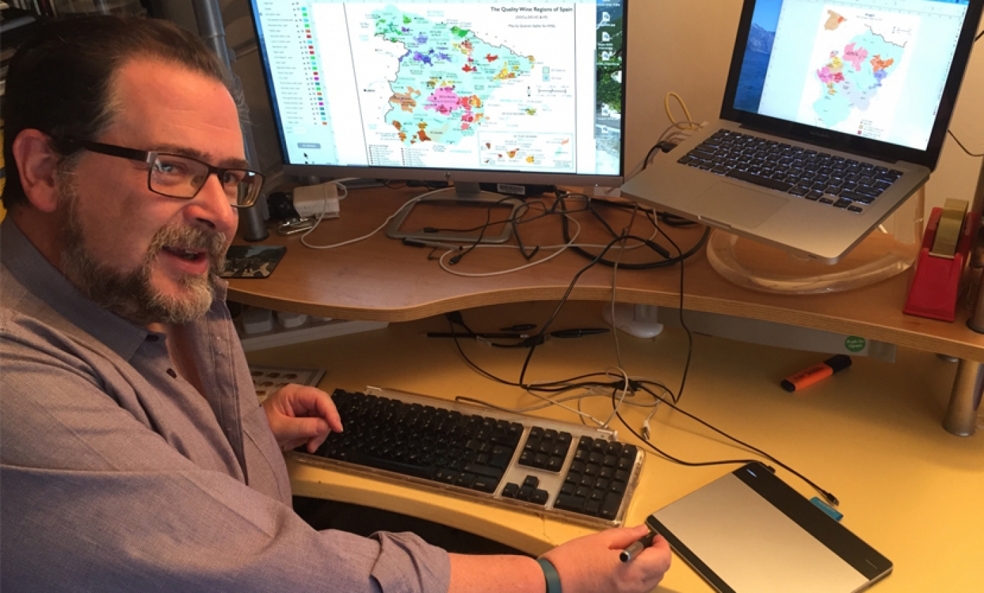 Mapping Spain with Quentin Sadler