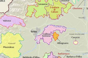 Italian Wine Maps - Liguria