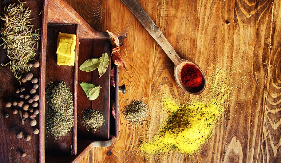 Wine meets food: The spice cabinet toolbox