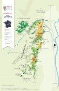 Bourgogne - Cote Chalonnaise Wine Map