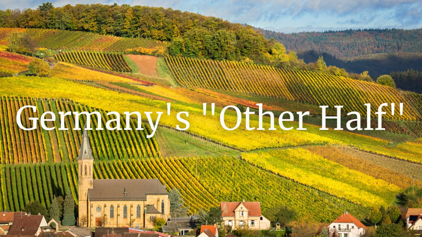 "Germany's ""Other Half"": Baden, Württemberg, Franconia, and the Pfalz with Valerie Kathawala"