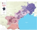 Languedoc-Roussillon IGP Wine Map