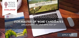 FWS Scholarships for Master of Wine Candidates