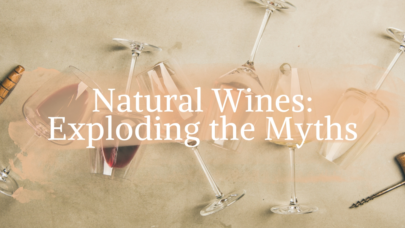 Natural wine - exploding the myths with Simon J Woolf