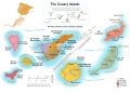 Canary Islands Wine Map