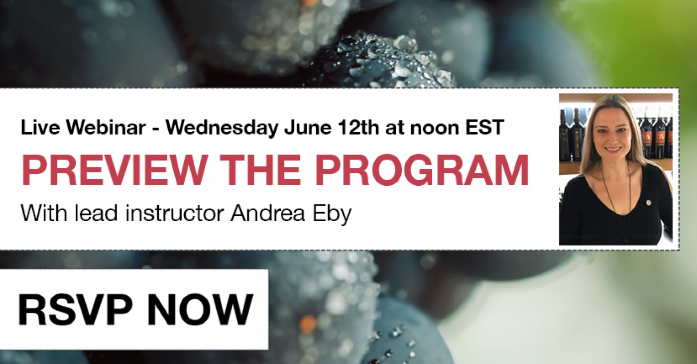[Live Preview] Italian Wine Scholar Unit 2 Online format with Andrea Eby
