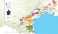 Languedoc-Roussillon Wine Map