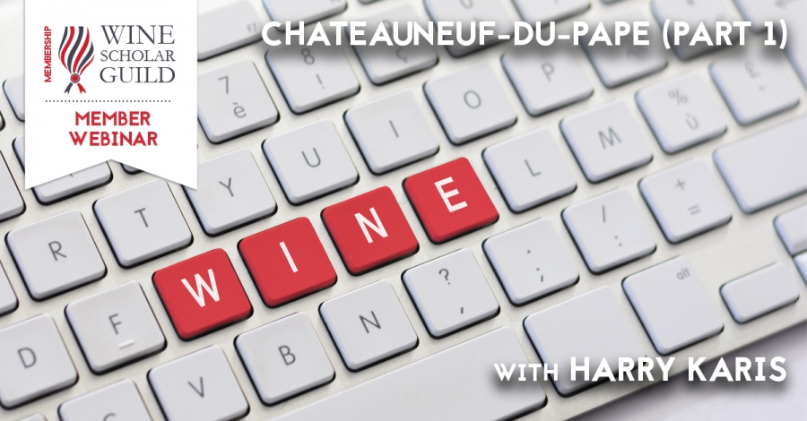 Chateauneuf-du-Pape with Harry Karis (Part 1)