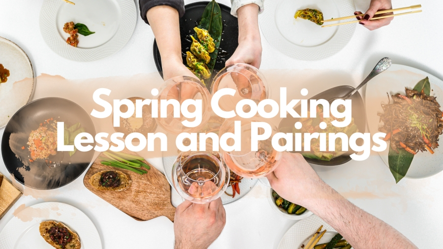 Spring Cooking Lesson and Pairings with Arnaud Valour