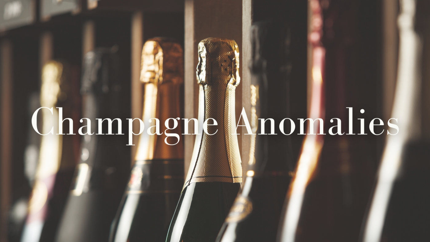 Champagne Anomalies with Alan Tardi