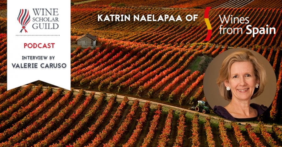 PODCAST: Katrin Naelapaa of Wines from Spain