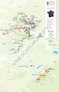 Champagne Wine Map