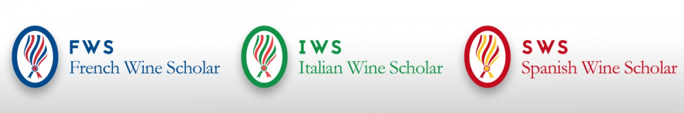 A new logo for French, Italian and Spanish Wine Scholar graduates