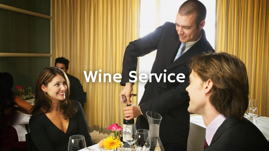 Serving Sparkling, Fortified & Dessert Wines