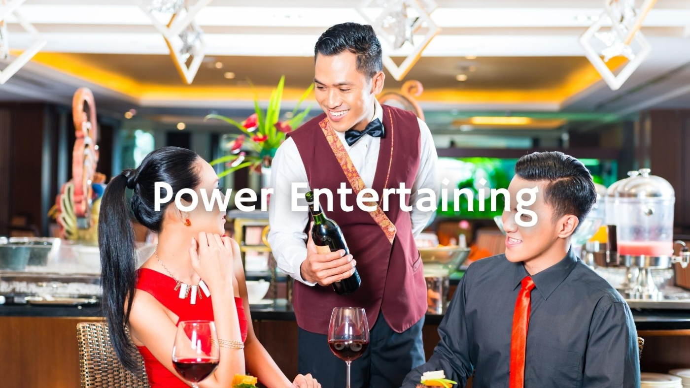 The Power Entertaining with Eddie Osterland MS