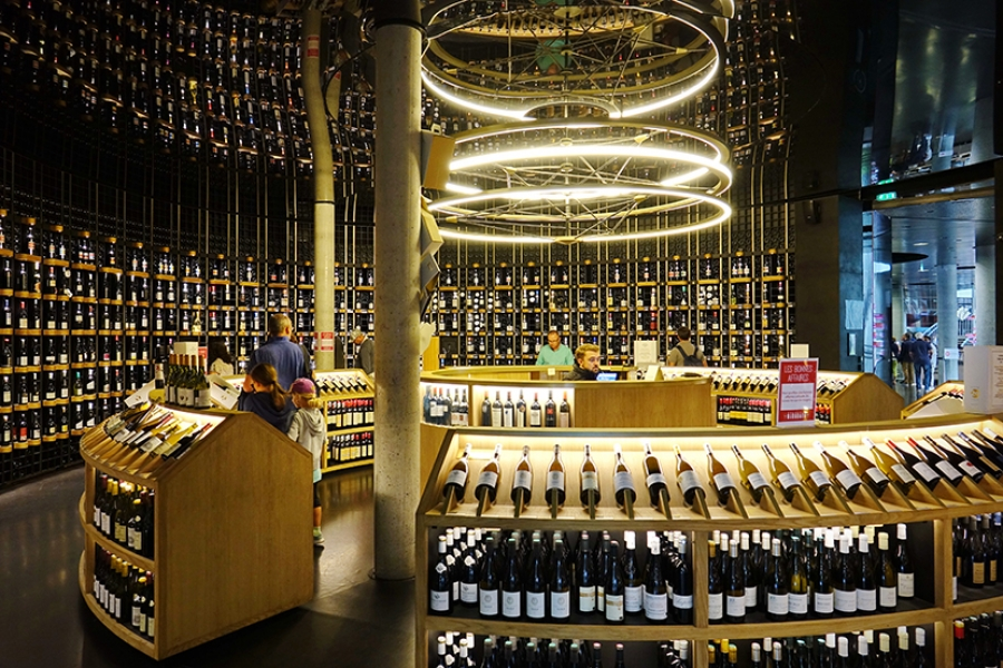 Bordeaux's top wine shops