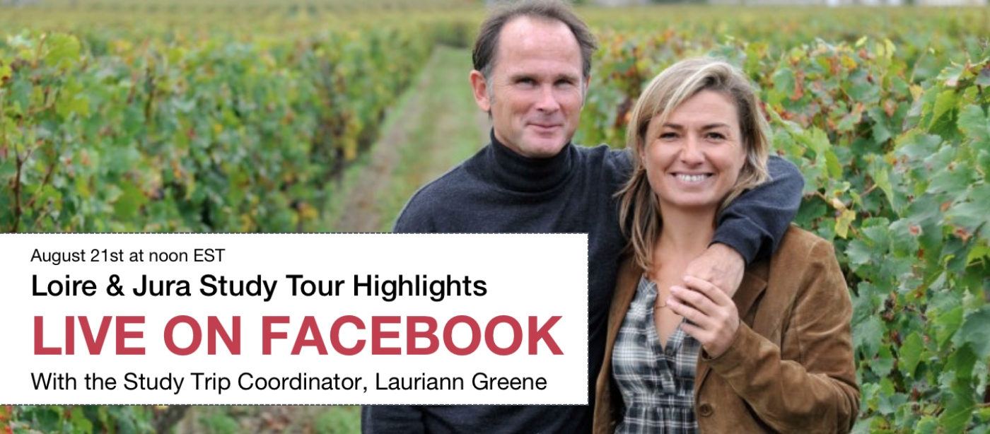 [Live on Facebook] WSG Wine Study Tour Highlights: Loire & Jura