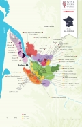 Bordeaux Wine Map