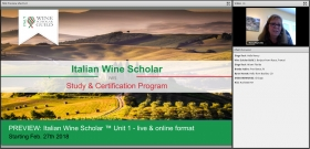 Video Preview: Italian Wine Scholar Unit 1 Online format with Nancy Reynolds