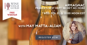 Free Webinar: Armagnac with May Matta-Aliah