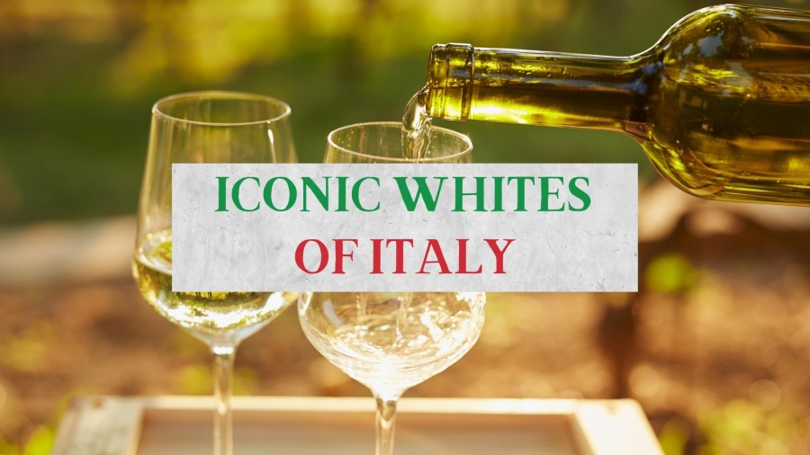 Iconic White Wines of Italy with Tom Hyland