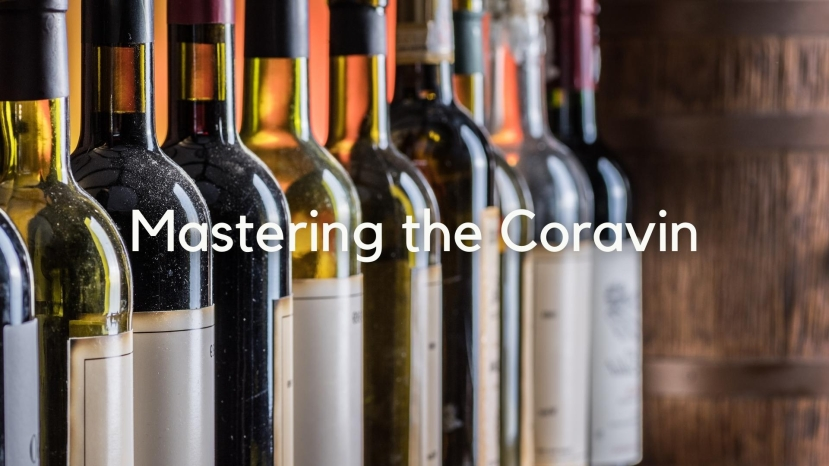 Mastering the Coravin System for your Wine Studies with Greg Lambrecht
