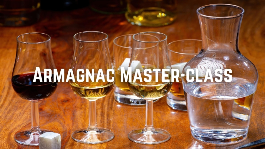 Armagnac Master Class with May Matta-Aliah