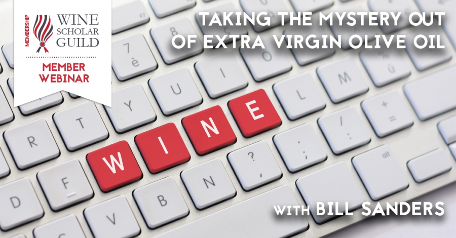 Taking the mystery out of extra virgin olive oil with Bill Sanders